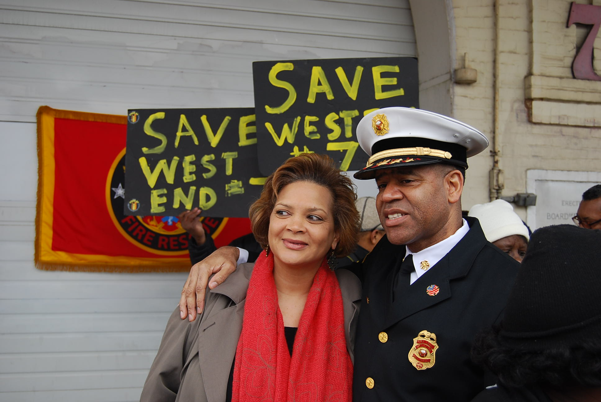 SAVE FIRE STATION #7